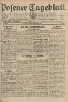 Posener Tageblatt. Jg.68, Nr. 212 (15 September 1929) + dod.