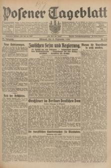 Posener Tageblatt. Jg.68, Nr. 214 (18 September 1929) + dod.