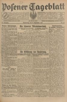 Posener Tageblatt. Jg.68, Nr. 215 (19 September 1929) + dod.