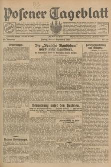 Posener Tageblatt. Jg.68, Nr. 216 (20 September 1929) + dod.