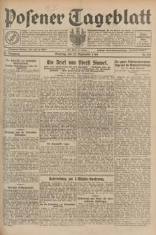 Posener Tageblatt. Jg.68, Nr. 218 (22 September 1929) + dod.