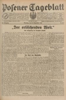 Posener Tageblatt. Jg.68, Nr. 219 (24 September 1929) + dod.