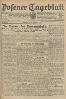 Posener Tageblatt. Jg.68, Nr. 220 (25 September 1929) + dod.