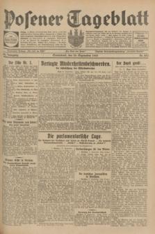 Posener Tageblatt. Jg.68, Nr. 223 (28 September 1929) + dod.