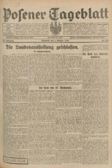 Posener Tageblatt. Jg.68, Nr. 226 (2 Oktober 1929) + dod.