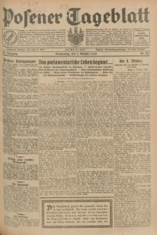 Posener Tageblatt. Jg.68, Nr. 227 (3 Oktober 1929) + dod.