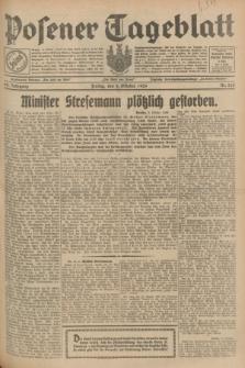 Posener Tageblatt. Jg.68, Nr. 228 (4 Oktober 1929) + dod.