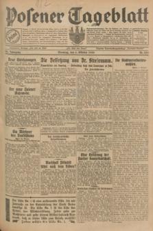 Posener Tageblatt. Jg.68, Nr. 230 (6 Oktober 1929) + dod.
