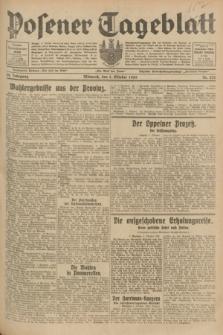 Posener Tageblatt. Jg.68, Nr. 232 (9 Oktober 1929) + dod.