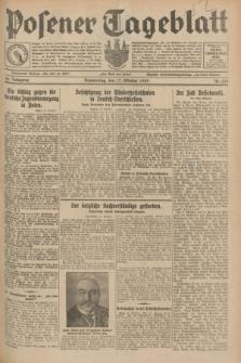 Posener Tageblatt. Jg.68, Nr. 239 (17 Oktober 1929) + dod.