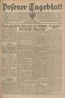Posener Tageblatt. Jg.68, Nr. 240 (18 Oktober 1929) + dod.