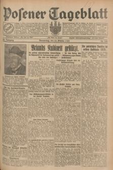 Posener Tageblatt. Jg.68, Nr. 245 (24 Oktober 1929) + dod.