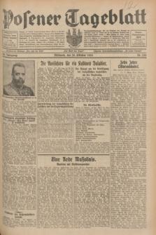 Posener Tageblatt. Jg.68, Nr. 250 (30 Oktober 1929) + dod.