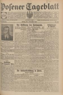 Posener Tageblatt. Jg.68, Nr. 252 (1 November 1929) + dod.