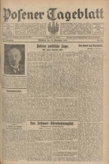 Posener Tageblatt. Jg.68, Nr. 261 (13 November 1929) + dod.