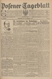 Posener Tageblatt. Jg.68, Nr. 264 (16 November 1929) + dod.
