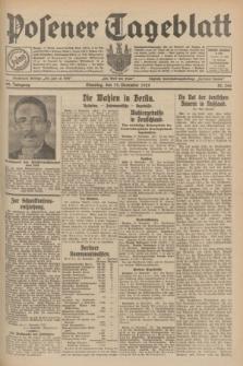 Posener Tageblatt. Jg.68, Nr. 266 (19 November 1929) + dod.