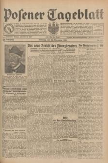 Posener Tageblatt. Jg.68, Nr. 272 (26 November 1929) + dod.