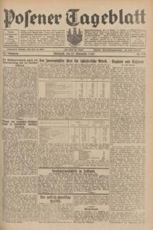 Posener Tageblatt. Jg.68, Nr. 273 (27 November 1929) + dod.