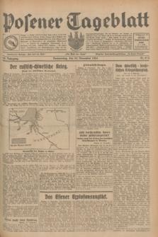 Posener Tageblatt. Jg.68, Nr. 274 (28 November 1929) + dod.