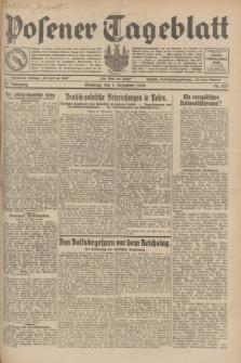 Posener Tageblatt. Jg.68, Nr. 277 (1 Dezember 1929) + dod.