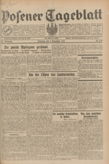 Posener Tageblatt. Jg.68, Nr. 278 (3 Dezember 1929) + dod.