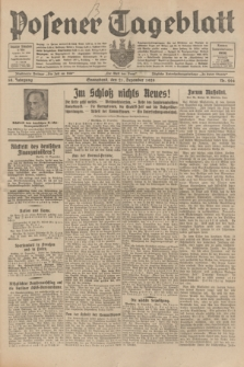 Posener Tageblatt. Jg.68, Nr. 294 (21 Dezember 1929) + dod.