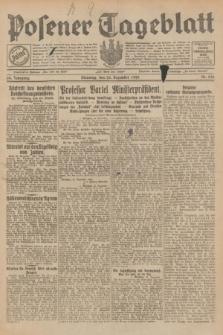 Posener Tageblatt. Jg.68, Nr. 296 (24 Dezember 1929) + dod.