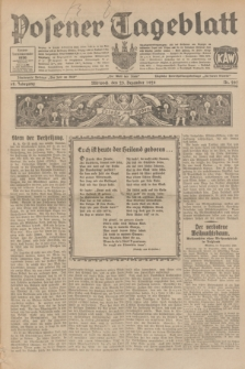 Posener Tageblatt. Jg.68, Nr. 297 (25 Dezember 1929) + dod.