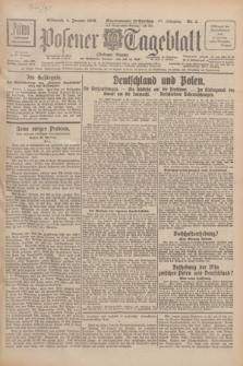 Posener Tageblatt (Posener Warte). Jg.67, Nr. 3 (4 Januar 1928) + dod.