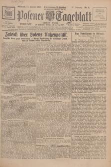 Posener Tageblatt (Posener Warte). Jg.67, Nr. 8 (11 Januar 1928) + dod.