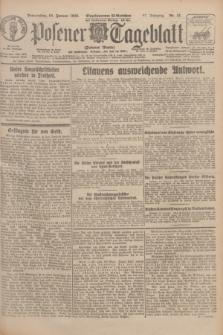 Posener Tageblatt (Posener Warte). Jg.67, Nr. 15 (19 Januar 1928) + dod.
