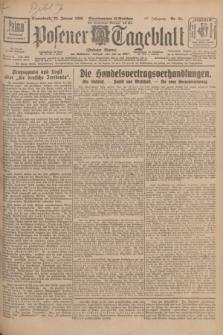 Posener Tageblatt (Posener Warte). Jg.67, Nr. 23 (28 Januar 1928) + dod.