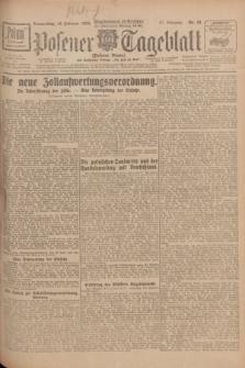 Posener Tageblatt (Posener Warte). Jg.67, Nr. 38 (16 Februar 1928) + dod.