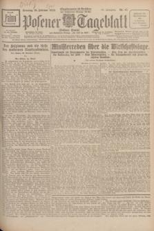 Posener Tageblatt (Posener Warte). Jg.67, Nr. 47 (26 Februar 1928) + dod.