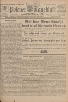Posener Tageblatt (Posener Warte). Jg.67, Nr. 58 (10 März 1928) + dod.