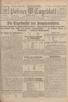 Posener Tageblatt (Posener Warte). Jg.67, Nr. 60 (13 März 1928) + dod.