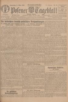 Posener Tageblatt (Posener Warte). Jg.67, Nr. 68 (22 März 1928) + dod.