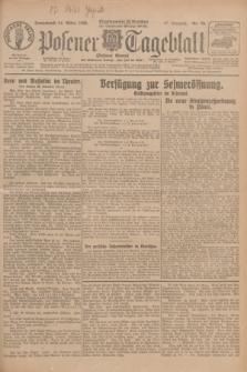 Posener Tageblatt (Posener Warte). Jg.67, Nr. 70 (24 März 1928) + dod.