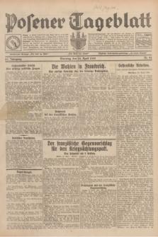 Posener Tageblatt. Jg.67, Nr. 94 (24 April 1928) + dod.