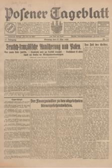 Posener Tageblatt. Jg.67, Nr. 121 (27 Mai 1928) + dod.
