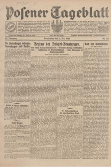 Posener Tageblatt. Jg.67, Nr. 123 (31 Mai 1928) + dod.
