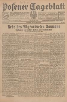 Posener Tageblatt. Jg.67, Nr. 126 (3 Juni 1928) + dod.