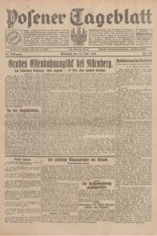 Posener Tageblatt. Jg.67, Nr. 133 (13 Juni 1928) + dod.
