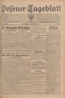 Posener Tageblatt. Jg.67, Nr. 165 (21 Juli 1928) + dod.