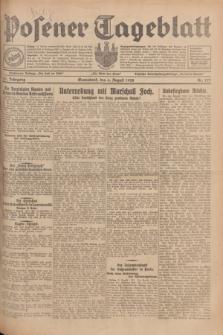 Posener Tageblatt. Jg.67, Nr. 177 (4 August 1928) + dod.