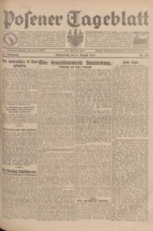 Posener Tageblatt. Jg.67, Nr. 181 (9 August 1928) + dod.