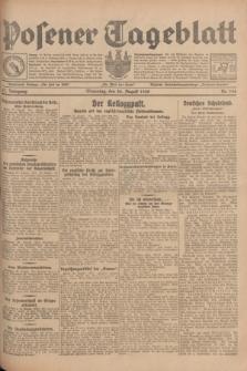 Posener Tageblatt. Jg.67, Nr. 196 (28 August 1928) + dod.