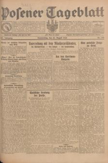 Posener Tageblatt. Jg.67, Nr. 198 (30 August 1928) + dod.