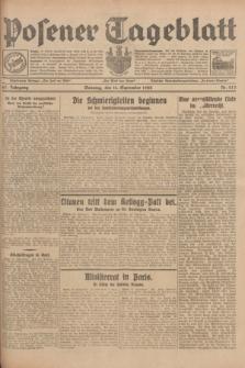 Posener Tageblatt. Jg.67, Nr. 213 (16 September 1928) + dod.